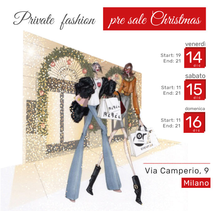 Private Fashion pre sale Christmas